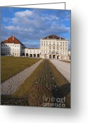 Nymphenburg Greeting Cards - Nymphenburg Palace  Greeting Card by Andrew  Michael