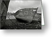 Spoiled Greeting Cards - Old abandoned ships Greeting Card by RicardMN Photography