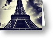 Sky Greeting Cards - #paris Greeting Card by Ritchie Garrod