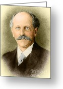 Percival Greeting Cards - Percival Lowell, American Astronomer Greeting Card by Science Source