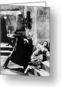 Movie Star Greeting Cards - Phantom Of The Opera, 1925 Greeting Card by Granger