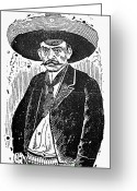 Zapata Greeting Cards - Posada: Revolutionary Greeting Card by Granger