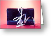 Wrapping Greeting Cards - Present Greeting Card by Blink Images