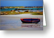 Galway Greeting Cards - Rossadillisk Quay Greeting Card by Gabriela Insuratelu