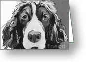 Reproductions Greeting Cards - Sadie Greeting Card by Pat Saunders-White            