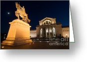 St Louis Missouri Greeting Cards - Saint Louis Art Museum Greeting Card by Chris Brewington 