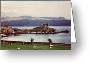 Picoftheday Greeting Cards - Scotland Greeting Card by Luisa Azzolini