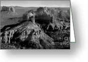 Arizona Greeting Cards Greeting Cards - Sedona  Greeting Card by Julie Lueders 