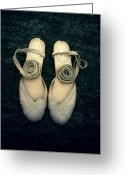 Straps Greeting Cards - Shoes Greeting Card by Joana Kruse