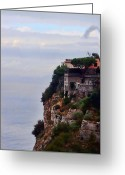 Prendergast Greeting Cards - Sorrento Greeting Card by Tom Prendergast