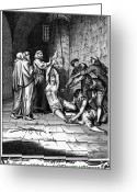 Martyrs Greeting Cards - Spanish Inquisition Greeting Card by Granger
