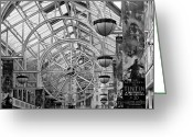 Grafton County Greeting Cards - St. Stephens Green Shopping Centre Greeting Card by Semmick Photo