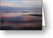 Tides Greeting Cards - Sylt Greeting Card by Joana Kruse