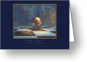 Leonard Filgate Painting Greeting Cards - The Ball Greeting Card by Leonard Filgate