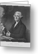 Declaration Of Independence Greeting Cards - Thomas Jefferson Greeting Card by War Is Hell Store