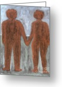 Partner Greeting Cards - Together Greeting Card by Patrick J Murphy