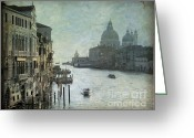 Italia Greeting Cards - Venice Greeting Card by Bernard Jaubert