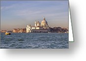 Baroque Greeting Cards - Venice Greeting Card by Joana Kruse