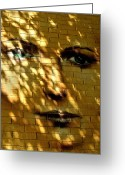 Licht Greeting Cards - Watching You ... Greeting Card by Juergen Weiss