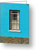 Guards Greeting Cards - Windows of Bo-Kaap Greeting Card by Benjamin Matthijs