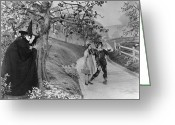 West Greeting Cards - Wizard Of Oz, 1939 Greeting Card by Granger