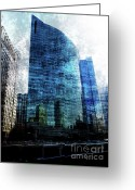 333 Greeting Cards - 333 Wacker Drive Greeting Card by David Bearden