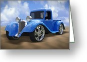 Dodge Greeting Cards - 34 Dodge Pickup Greeting Card by Mike McGlothlen