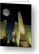 Moonrise Photo Greeting Cards - Untitled Greeting Card by National Geographic