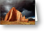Capitol Greeting Cards - Capitol Reef National Park Greeting Card by Mark Smith