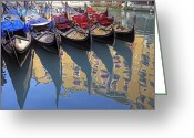 Parking Greeting Cards - Venezia Greeting Card by Joana Kruse