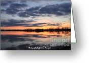 True Colors Greeting Cards - Sunset Greeting Card by Joshua Fronczak