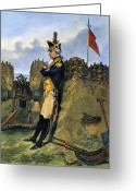 Rebellion Greeting Cards - Alexander Hamilton Greeting Card by Granger