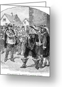 Commission Greeting Cards - Bacons Rebellion, 1676 Greeting Card by Granger