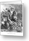 Georg Greeting Cards - CHARLES MARTEL (c688-741) Greeting Card by Granger