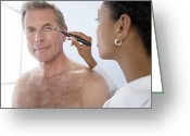 Beauty Mark Greeting Cards - Cosmetic Surgery Greeting Card by Adam Gault