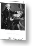Autograph Greeting Cards - John Hancock (1737-1793) Greeting Card by Granger