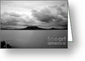 Screen Doors Greeting Cards - Landscape Greeting Card by Odon Czintos