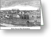 Germantown Photo Greeting Cards - New Jersey, 1844 Greeting Card by Granger