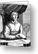 Armillary Greeting Cards - Nicolaus Copernicus Greeting Card by Granger