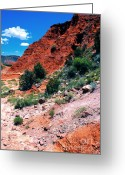 Palo Duro Canyon State Park Greeting Cards - Palo Duro Canyon State Park Greeting Card by Thomas R Fletcher