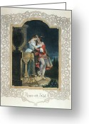 Juliet Greeting Cards - Romeo & Juliet Greeting Card by Granger