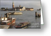 Italia Greeting Cards - San Giorgio Maggiore. Venice Greeting Card by Bernard Jaubert