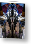 Arcade Digital Art Greeting Cards - Sculpture Greeting Card by Michele Caporaso