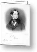 1833 Greeting Cards - Thomas Moore (1779-1852) Greeting Card by Granger