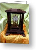 Day Sculpture Greeting Cards - 400 day Anniversary clock 3 Greeting Card by Ivan Rijhoff