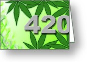 420 Greeting Cards - 420 01 Greeting Card by Joshua Fox