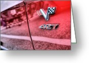 Big Block Chevy Greeting Cards - 427 Greeting Card by JC Findley