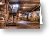 Underground Greeting Cards - 435 Michigan Greeting Card by Scott Norris
