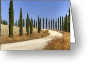 Gentle Greeting Cards - Tuscany Greeting Card by Joana Kruse