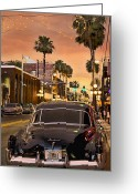 Florida Sunset Greeting Cards - 48 Cadi Greeting Card by Steven Sparks
